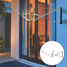 Mrs Hinch 5 Arm Rotary Garden Washing Line In 2020 Washing Line Old Farm Houses Outdoor