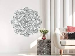 Half Mandala Wall Decal Sticker For Bedroom Australia Canada Art Vinyl Gold Hanging Large Vamosrayos