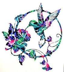 Pin On Decal Hummingbird