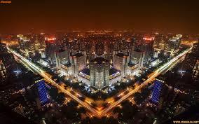 night cities city night town