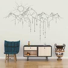 Wall Decal Vinyl Sticker Sun Mountain Arrow Wall Art Design Mural Living Room House Home Decoration Wallpaper Diy Decor Ww 242 Decor Wallpaper Decorative Wallpaper Designhome Decor Aliexpress