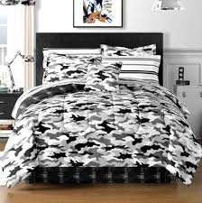 modern camo black gray white camouflage