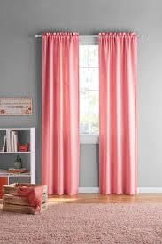 Your Zone Kids Room Darkening Curtain Panels Set Of 2 Walmart Com Walmart Com
