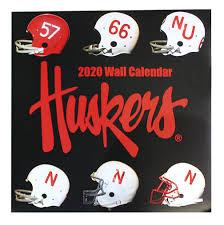 2020 Nebraska Football Wall Calendar