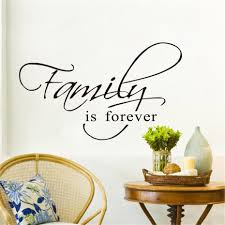 Family Is Forever Lettering Wall Sticker Sku Wal0003 Nexus Reno Decor