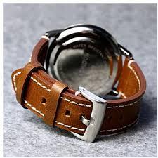 generic 23mm watch bands brown