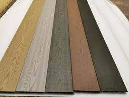 Composite Fence Boards Slate Grey Sample Ebay