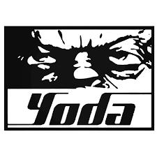 Star Wars Yoda Eyes Vinyl Decal Sticker