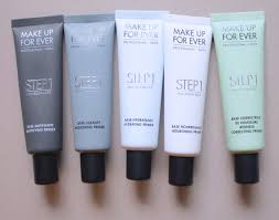 make up for ever s 10 new primers solve