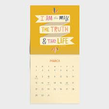 do everything love wall calendar dayspring