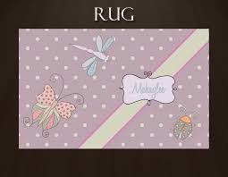 Lavender Butterfly Rug With Dragonfly And Lady Bug Great For Kids Playroom Rug 37 Eloquent Innovations