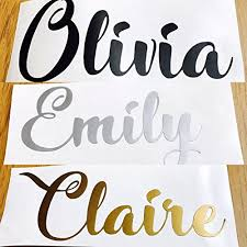 Rachel Personalized Name Decal Label Fo Buy Online In Trinidad And Tobago At Desertcart