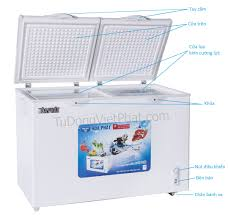 Tủ đông Hòa Phát HCF-600S2PĐ2, 2 ngăn 240L dàn đồng - Chính hãng