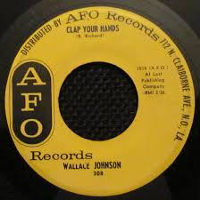 Wallace Johnson - Clap Your Hands / Peace Of Mind (1962, Vinyl) | Discogs