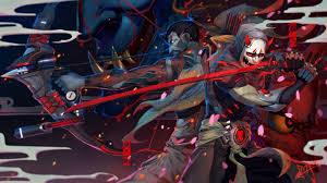 152 genji overwatch hd wallpapers