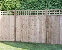 Trellis Top Closed Board Panel Fencing Kudos Fencing Ltd