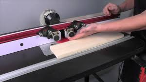 Infinity Cutting Tools Jessem Clear Cut Router Table Stock Guides Youtube