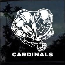 Arizona Cardinals Football Player Window Decal Sticker Custom Sticker Shop