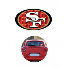 49ers Sf Decal Color