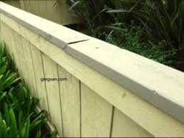 Problems With Fence Guard Rail Or Handrail Cap And Solution Youtube