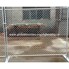 Portable Movable Used Chain Link Temporary Fencing Panel Global Sources