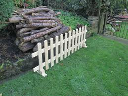 Wooden Free Standing Picket Fence Panels 6ftx2ft Planed Timber Smooth Finish Henshaw Timber Diy Tools Diy Tools Building Supplies