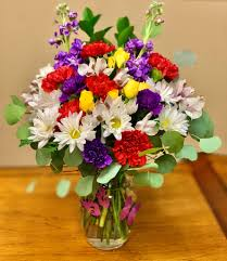 las vegas rainbow flowers by vegas