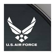 Amazon Com World Design U S Air Force Car Decal Sticker Automotive