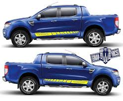 Ford Ranger Stickers Ford Ranger Wildtrak Decals Bailey Ranger Decals