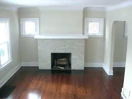 paint brick fireplace black how to