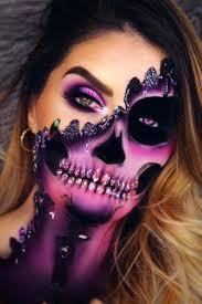 45 really cool skeleton makeup ideas to