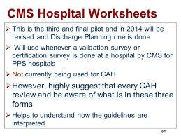 critical access hospitals cah cms