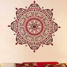 Prosperity Mandala Stencil Large Stencil Mandala Mandala Stencils