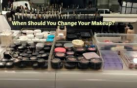 how often should you change your makeup