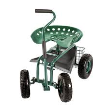 seat small chair tool tray gardening