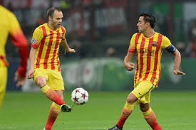 xavi vs iniesta who goes down as the better player for barcelona