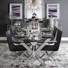 axis dining table elegant dining room