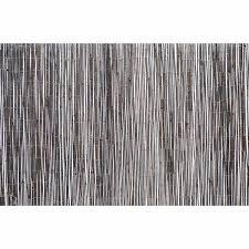 Nouveau Black Bamboo Screening Garden Screens Mitre 10