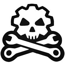 Mil Spec Monkey Death Mechanic Vinyl Decal Sticker