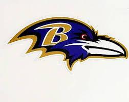 Baltimore Ravens Decal Etsy