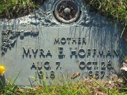 Myra E. Zepp Hoffman (1918-1957) - Find A Grave Memorial