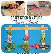 Craft Stick Fences The Pinterested Parent