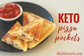 easy keto pizza pockets with keto