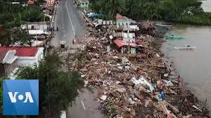 Typhoon Aftermath in the Philippines - YouTube