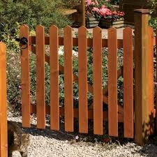 Rowlinson Picket Fence Gate 3ft X 3ft One Garden