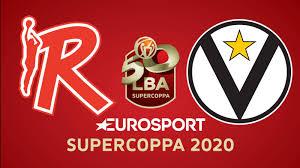 UNAHOTELS Reggio Emilia - Segafredo Virtus Bologna - Eurosport Supercoppa  2020