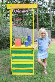 diy lemonade stand super easy to build
