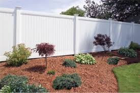 6ft White Pvc Privacy Fence Can T Wait Until Next Spring Or Maybe Just Maybe Much Sooner Backyard Fences Backyard Landscaping Vinyl Privacy Fence