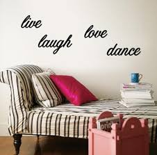 Live Laugh Love Dance Wall Decal Allposters Com