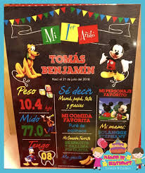 Mickey Mouse Con Imagenes Tarjetas De Cumpleanos Gallinas